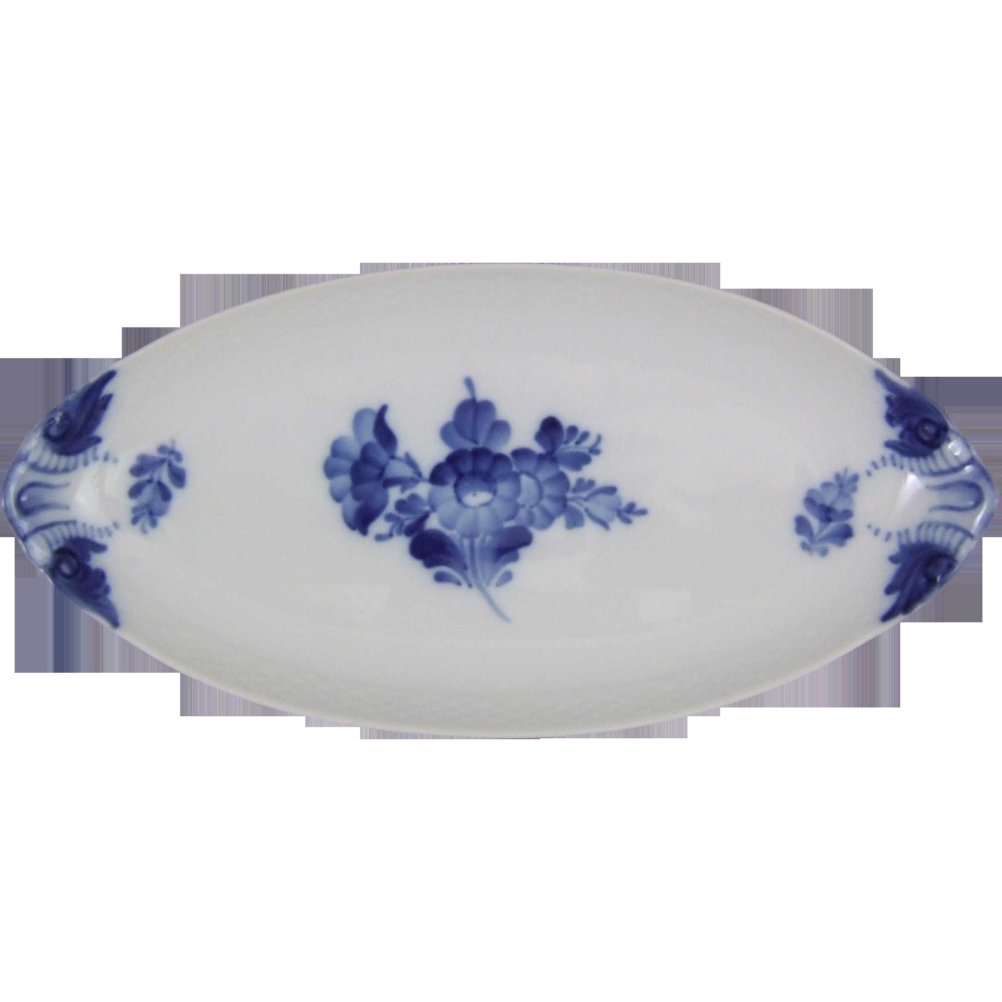 Royal Copenhagen Blue Flower Braided Blaue Blume 353 Dish