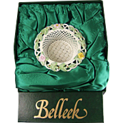 Belleek Summer Rose Basket 2050