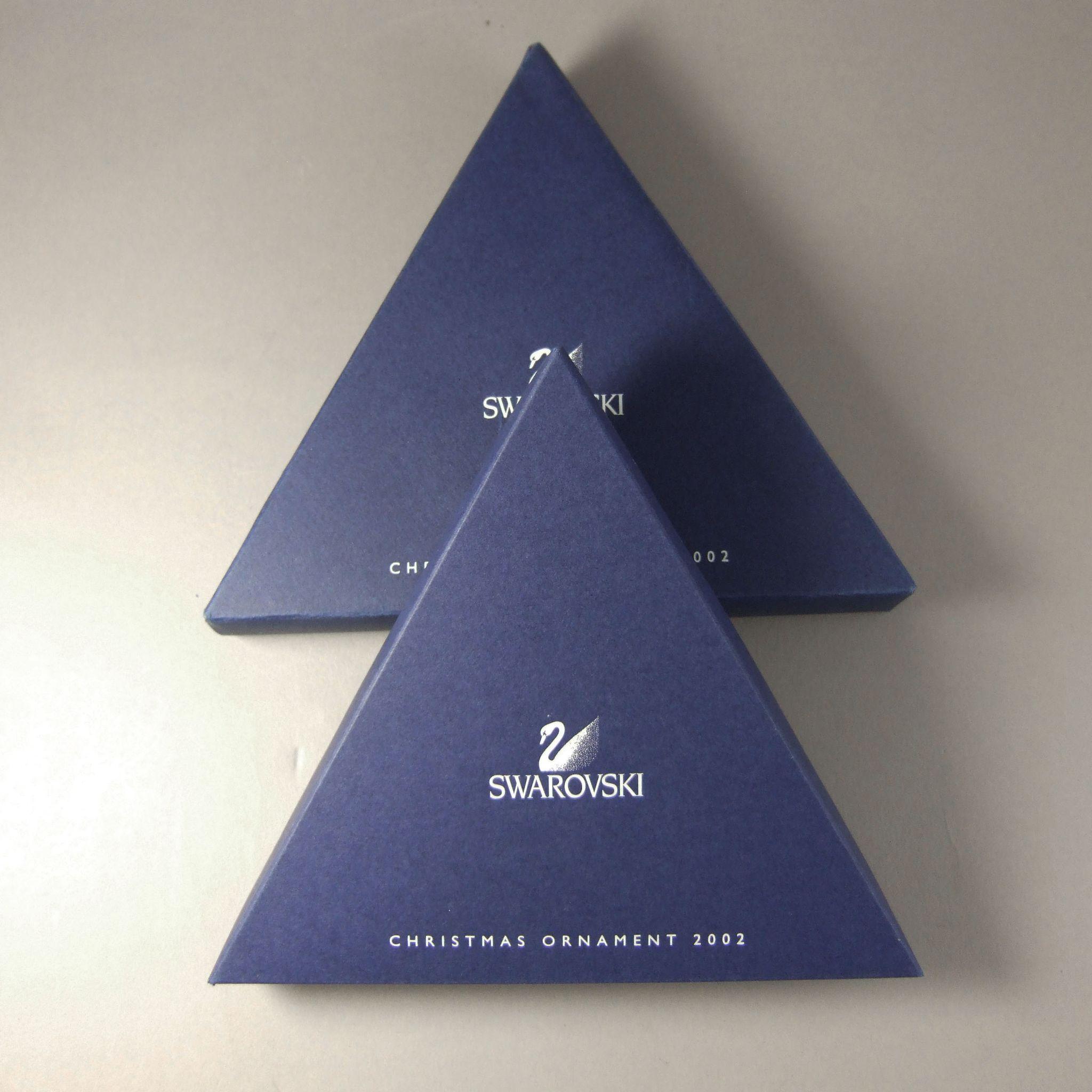 swarovski 2002 christmas ornament