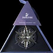 2006 Swarovski Crystal Snowflake Annual Edition Christmas Ornament
