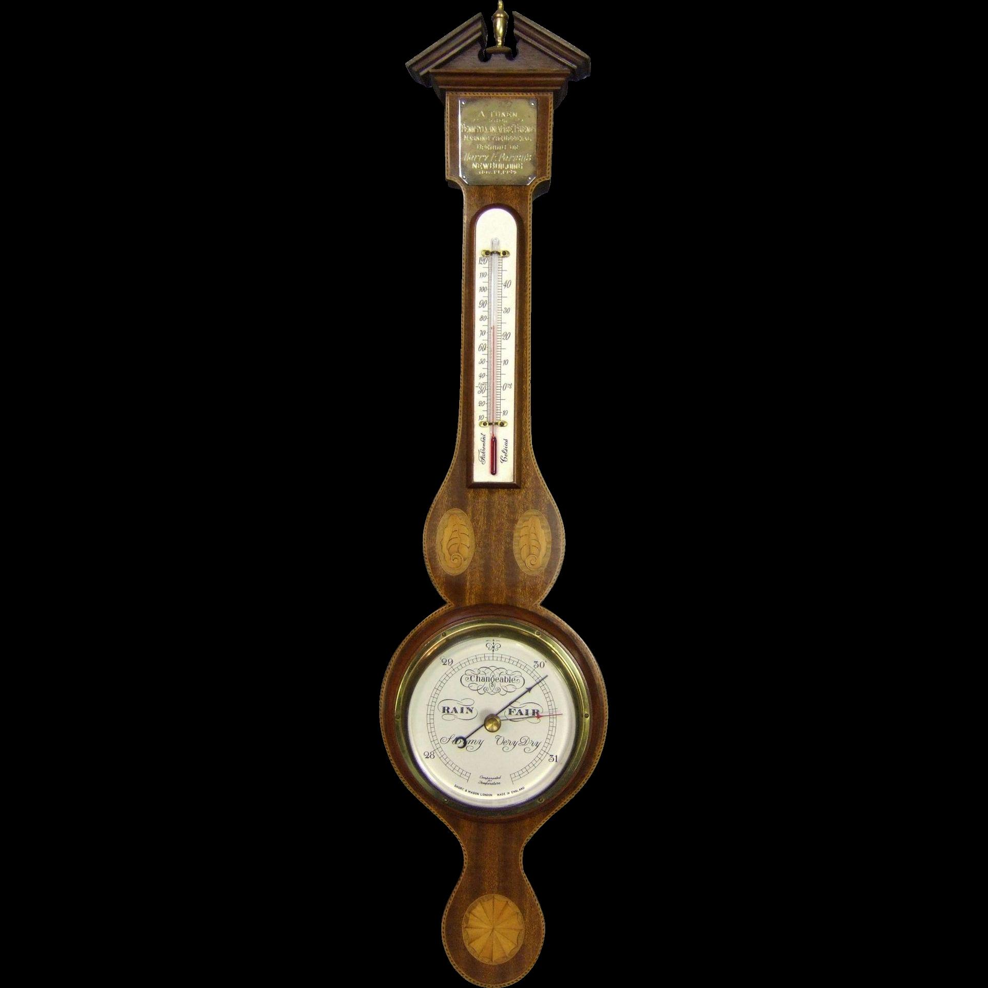 Short & Mason Barometer London England Model 2469-1/2