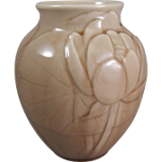 Rookwood 6833 Lotus Water Lily Vase C1948