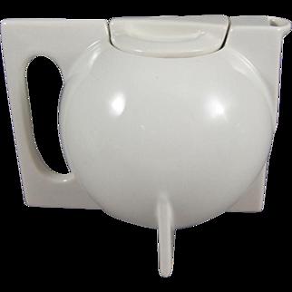 Bauhaus Style Modernist Ceramic Teapot Tea Service 11 Pcs