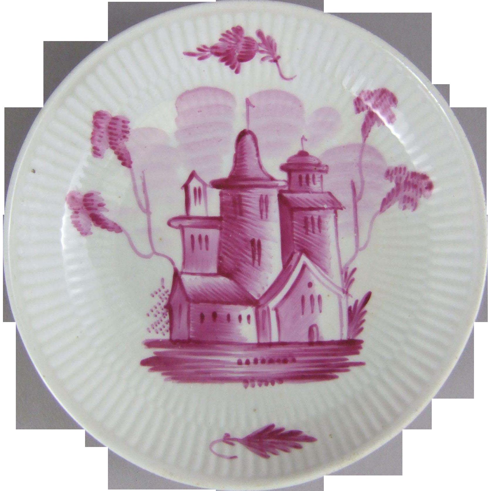 18th Century Thuringia Wallendorf Porcelain Dish
