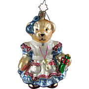 Christopher Radko Ornament Muffy Alice in WonBearland