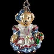 Christopher Radko Ornament Muffy Alice in WonBearland