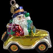 Christopher Radko Ornament Holiday Rolls Royce