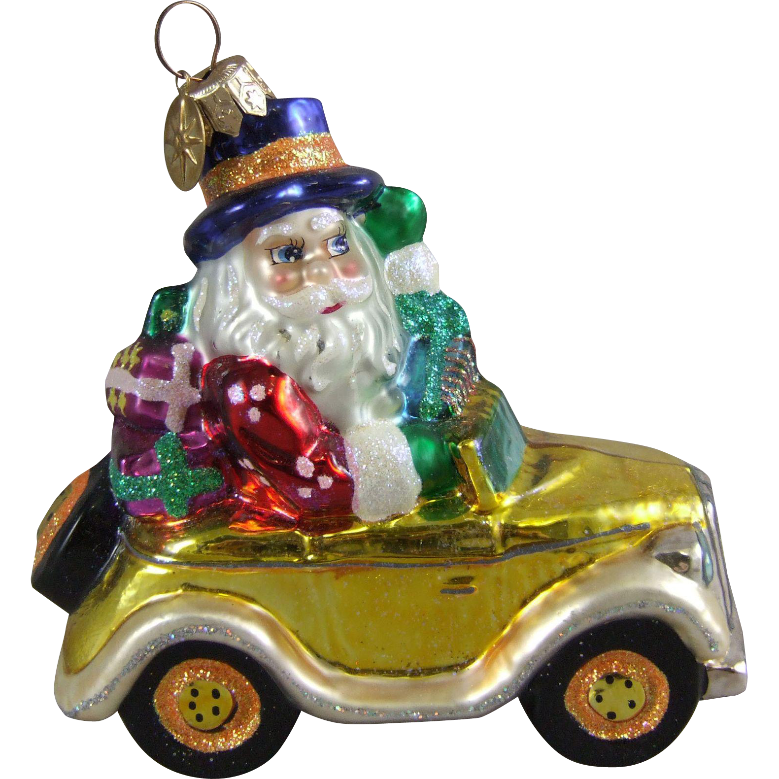 Christopher Radko Ornament Holiday Rolls Royce