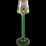 Meyr's Neffe Circa 1900 Art Nouveau Enameled Glass Liquor Cordial