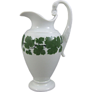 Meissen Porcelain Full Green Vine Milk Jug