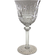 "Saint-Louis Crystal Tommy Continental 7.125"" Wine Goblet Wine Glass St. Louis Cristal"