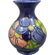 Moorcroft Pottery Vase Clematis 5.25""