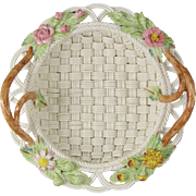 Belleek in Retrospect Basket 2002 Woven Porcelain Basket