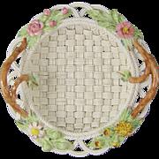 Belleek in Retrospect Basket 2002 Woven Porcelain Basket