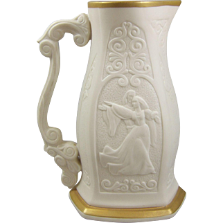 Lenox Romeo & Juliet Tall Tankard Porcelain Pitcher by Sir Laszlo Ispanky