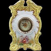 Von Schierholz & Sohn  Antique Porcelain Clock