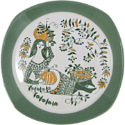 Figgjo Flint Norway Sicilia Ceramic Plate