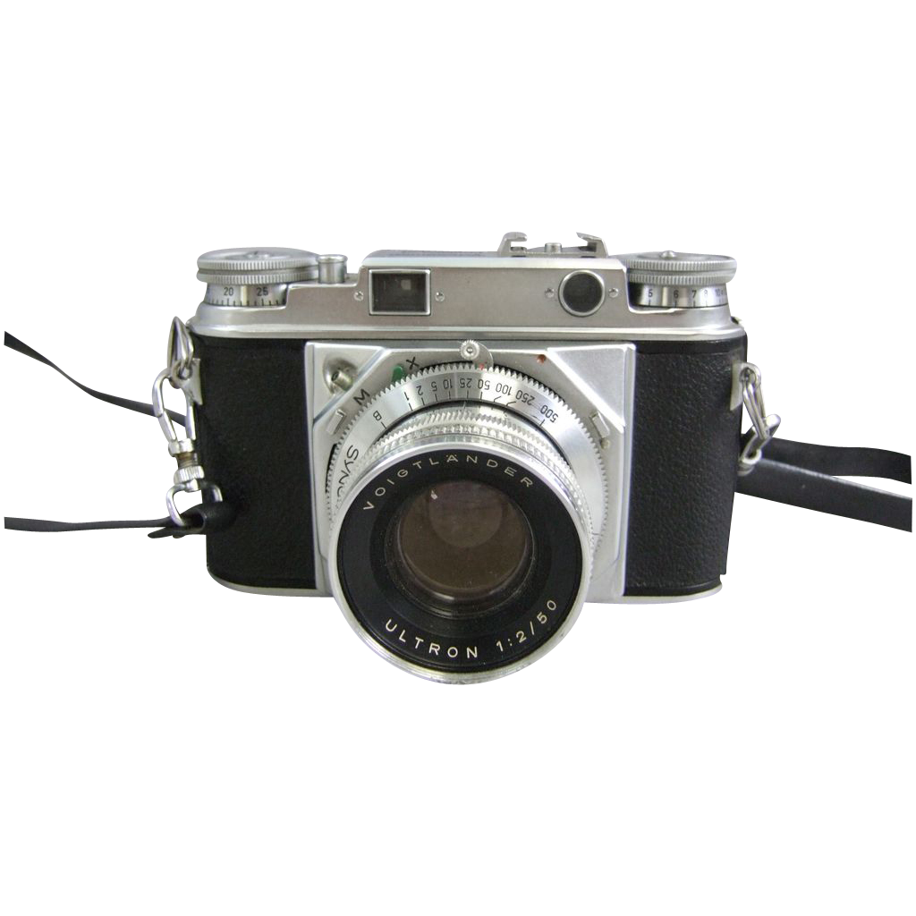 Voigtlander Prominent 35mm Rangefinder with Ultron 1.2/50 Lens