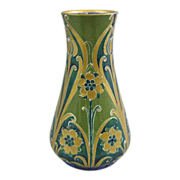 William Moorcroft Macintyre Florian Ware Vase, Circa  1903