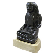 Alva studios Mid Century Figure of the Scribe Nebmerutef Circa 1550 to 1069 BC