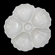 Antique Limoges France Porcelain Oyster Plate Martial Redon