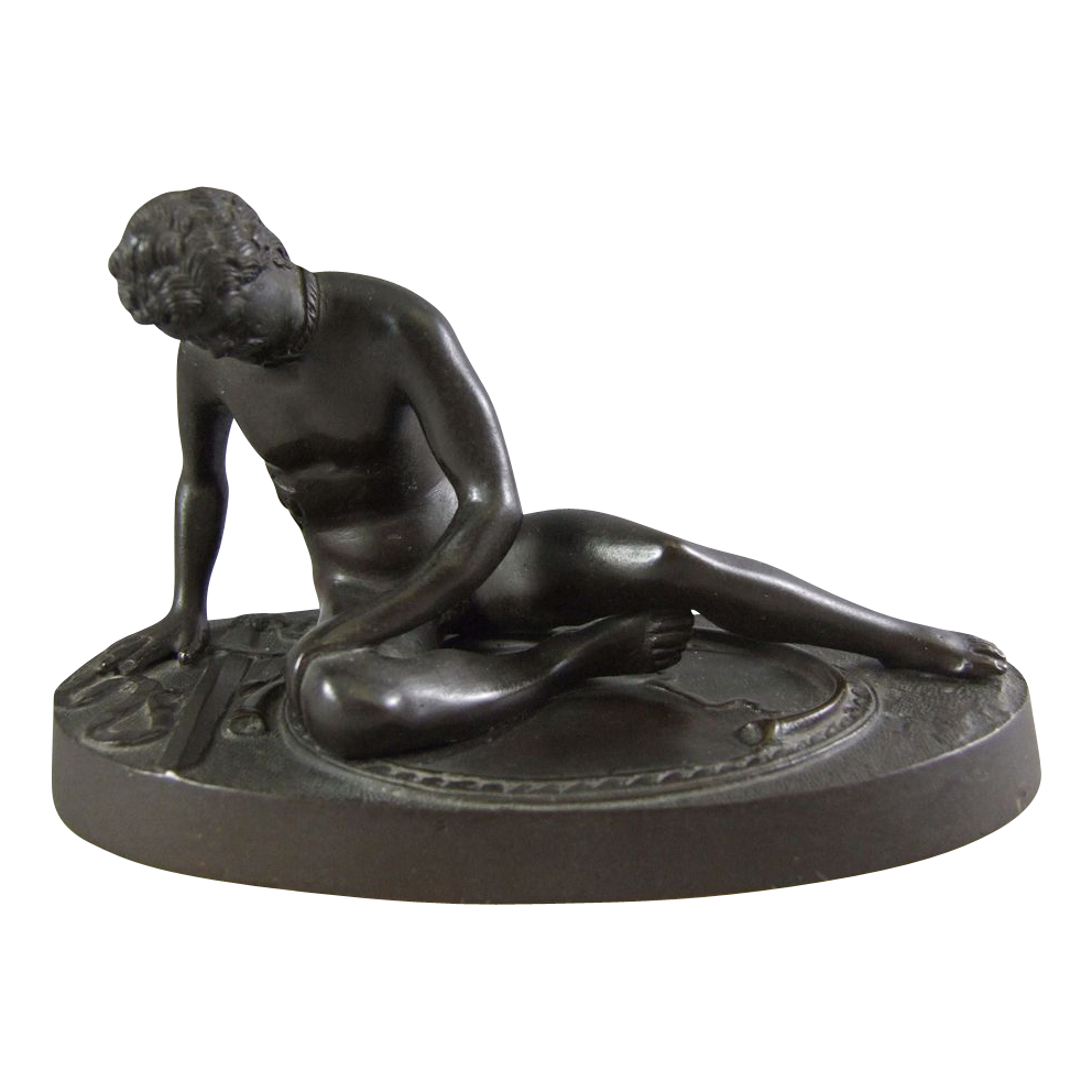 "Bronze Sculpture ""The Dying Gladiator"" or ""The Dying Gaul"""