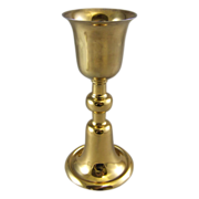 Benziger Brothers Gilt Sterling Silver Ciborium Chalice