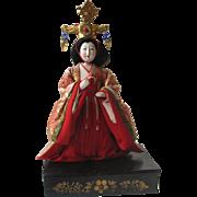 Antique/Vintage Japanese Empress Hina Doll Lady Ningyo