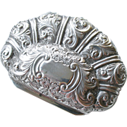 Gorgeous Antique Silver English Fully Hallmarked Coin Purse