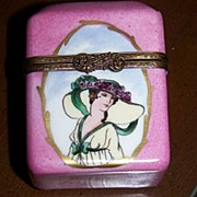 Vintage Limoges Perfume Casket