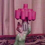 Rare 1920/30 Deco Cigarette Holder Half Doll