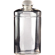 c.1920s, 30s Large Coty Eau De Coty Lalique Design Scent Perfume Bottle