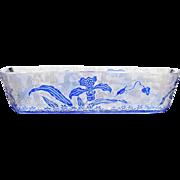 c.1900 Val St. Lambert cameo glass trinket tray