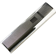 Alfred Dunhill 925 sterling silver double cigar holder 195gm/6.27 troy oz.
