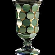 c.1830 Lithyalin glass goblet, Friedrich Egermann