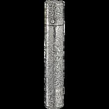 1880 Sampson Mordan sterling silver double end scent perfume bottle