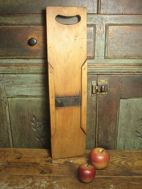 Beautiful Old Farm Kitchen Primitive Wooden Cutter