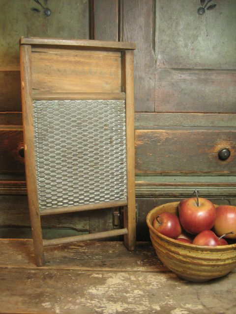 Granny S Old Wood And Tin Washboard From