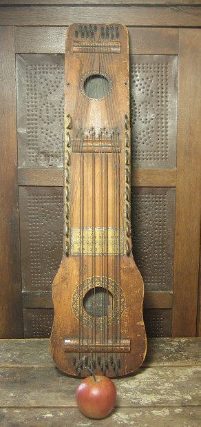 Unique old ukelin stringed musical instrument great for Classic house string sound
