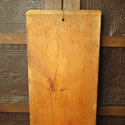 Granny's Favorite Old Wooden Farmhouse Kitchen Bread Board