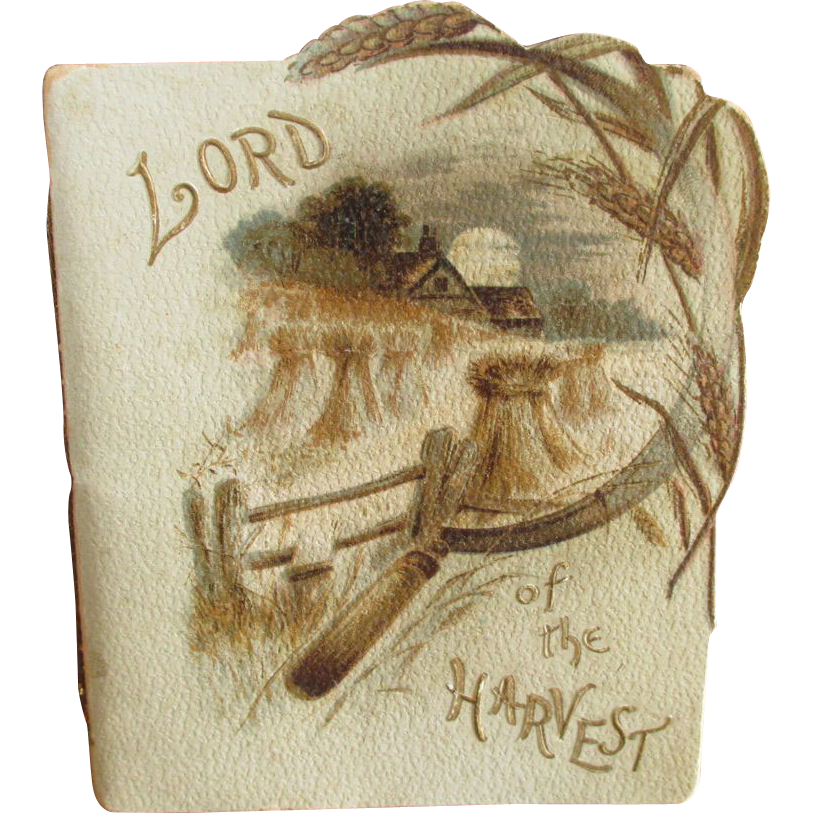 Grandma's Tiny Old 'Lord Of The Harvest' Booklet - England