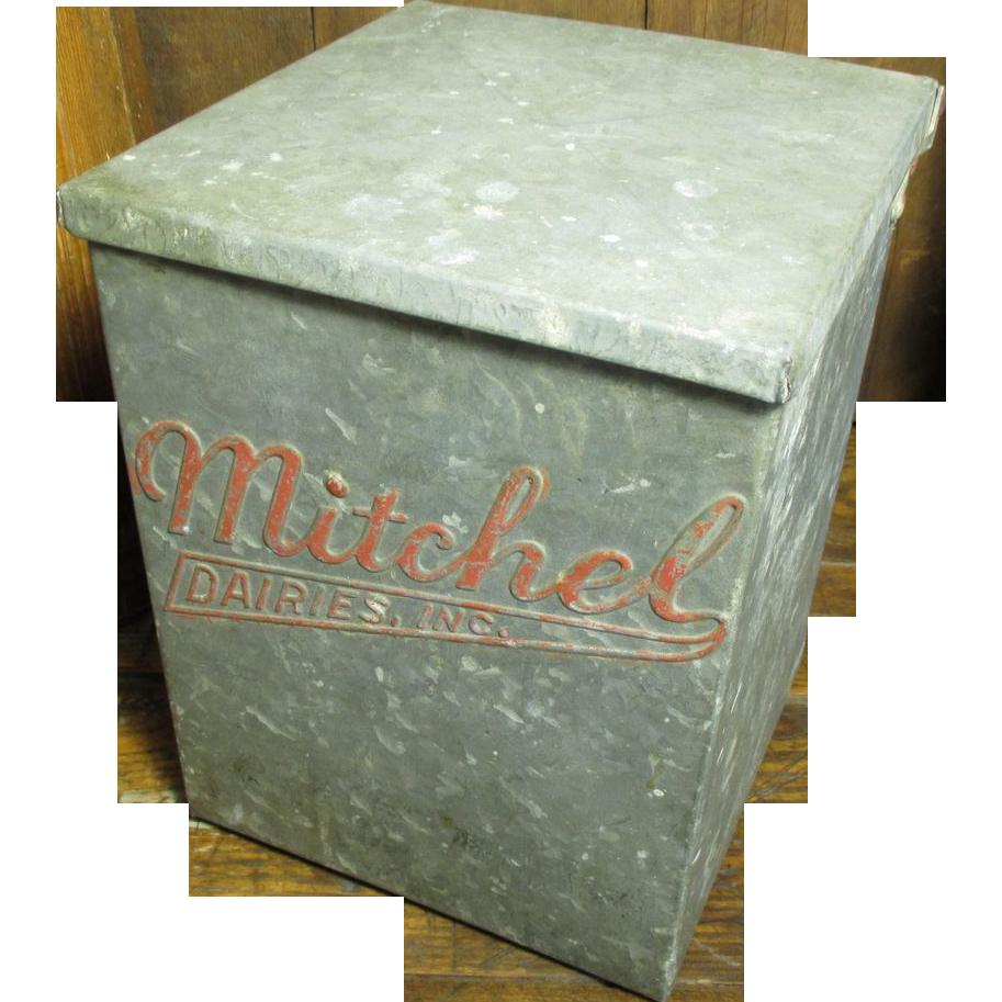 Porch Milk Box