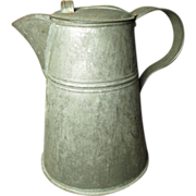 Granny's Early Old Farmhouse Kitchen Tin Coffee Pot