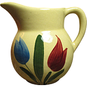 Sweet Old WATT Dutch Tulip Creamer