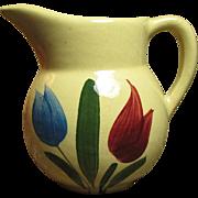 Sweet Old WATT Dutch Tulip Creamer