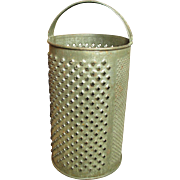 Granny's Old Farmhouse Kitchen Round Tin Grater