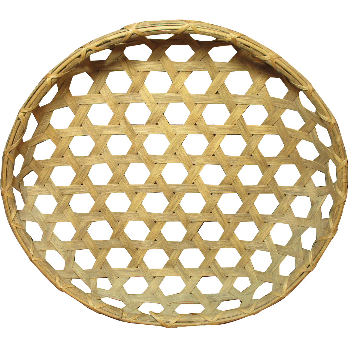 Grandma's Wonderful Vintage Farm Country Cheese Basket