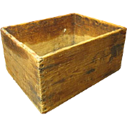 Sweet and Simple Old Wooden Box