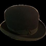 Vintage Stetson Bowler Hat