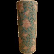 "Otagiri ""Serenade"" Floral Cylinder Vase"
